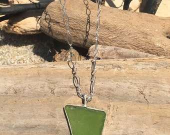 Sea Glass Necklace #25