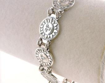 """Sterling Silver Sunshine Bracelet 7 1/4"""""""