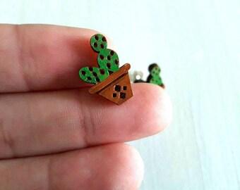 Cactus Jewelry, Cactus Earrings, Cactus Gift, Succulent Jewelry, Succulent Earrings, Cacti Gift, Cacti Jewelry, Succulent Gift