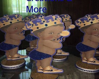Royal baby centerpiece