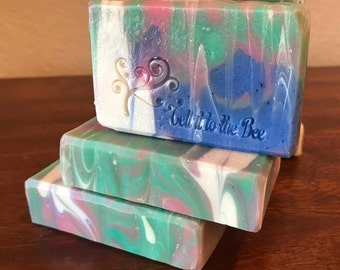 Unscented - Artisanal handcrafted lovely Soap | Handmade with Organic Shea Butter fragrance free no scent bars | exclusive recipe