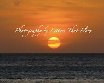 Digital Download | Outdoor Photography | Aruban Sunset