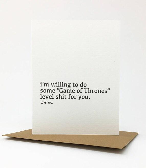 thrones level card. #965