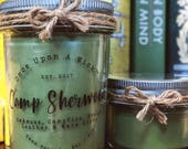 Camp Sherwood | Robin Hood Inspired Bookish Soy Candle