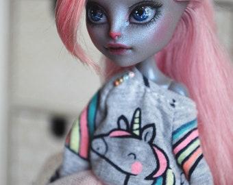 Lumina  - OOAK Monster High doll repaint.
