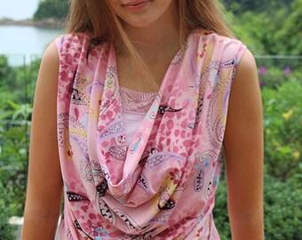 Sophia top pattern, knit top pattern, cowl top pattern, womens pattern, drape blouse pattern, ladies top pattern, cowl neck pattern