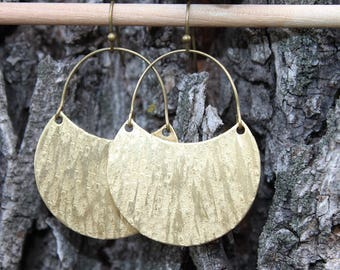 Bohemian Earrings Boho Earrings Dangle Drop Earrings Brass Earrings Boho Jewelry Bohemian Jewelry Dangle Drop Earrings Gypsy Gift  for her