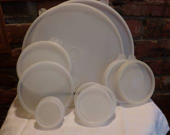 Tupperware replacement lids, Vintage Tupperware lids, Morethebuckles, Replacement Tupperware lids, Tupperware lid