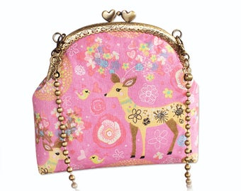 Sewing for Beginners Floral Messenger Bag Sewing Project for Girls