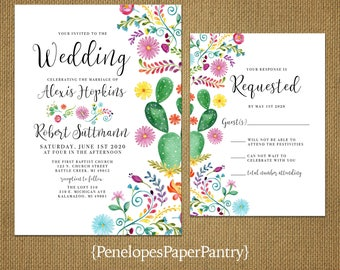 mexican wedding invitations mexican wedding invitations etsy 5862