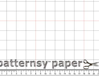 Grid Pattern Paper by Patternsy