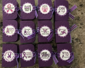 Pancreatic cancer awareness tic tac books
