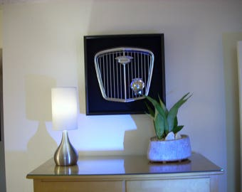 Wolseley Car Grille In Shadowbox Frame.  Great Gift