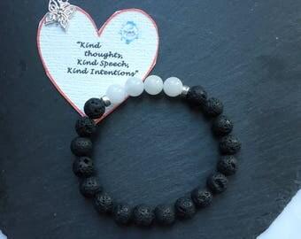 Essential Oil Diffuser Bracelet, Gemstone Bracelet, Chakra Bracelet, Reiki Bracelet, Aromatherapy Diffuser Bracelet