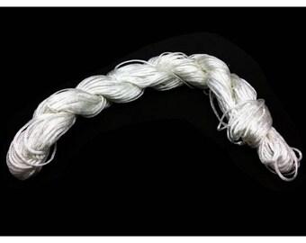 25 m Nylon white 1 mm wire