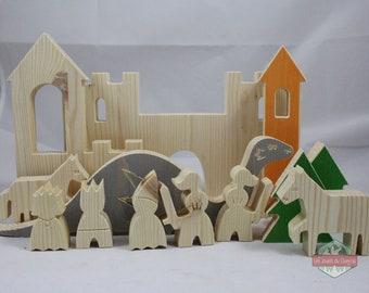 Le Château en bois