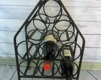 black iron wine rack french style nine bottle wine rack countertop wine bottle rack