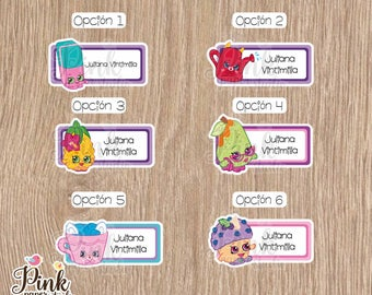 Shopkins name labels • Labels for school • School labels • Stickers for kids • This belong to stickers • labels school supplies