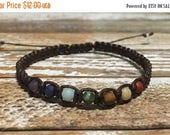 SALE Chakra Healing Bracelet / Healing Crystal Bracelet / Chakra Bracelet / Chakra Jewelry / Chakra / Balance