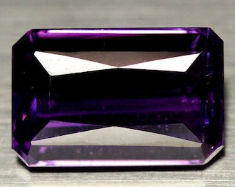 Alluring Amethyst 13.65 Carat IF 12.1 X 18.9 X 7.6 mm