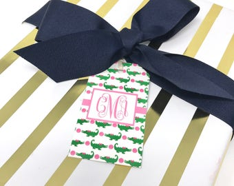 Personalized Monogrammed Gift Tags