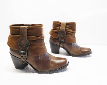 MATISSE  brown suede ankle Boots Size 7