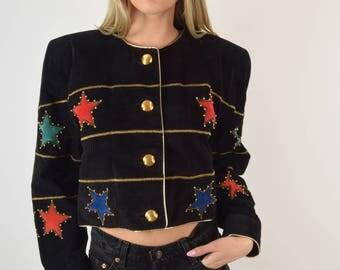 Vintage Leather Jacket (2835)