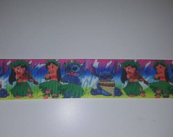 lilo and stitch 25mm the meter Ribbon