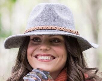 Fold up fedora hat