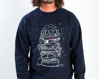 Snowburger crewneck