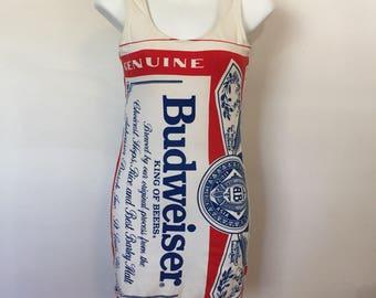 Vintage Budweiser Dress