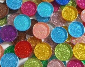 20MM Glitter Round Mix