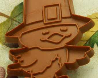 1980 Brown Pilgrim Bird Hallmark Thanksgiving Plastic Cookie Cutter