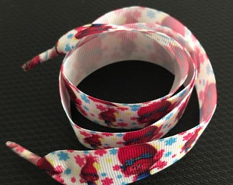 Custom character printed shoelaces - shoelaces - shoes - laces - character laces - character - kids shoes - kids - accessories
