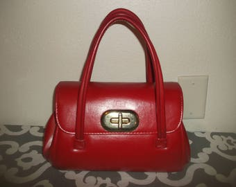 Vintage Purse Lipstick Red Purse 50's-60's Very NICE!