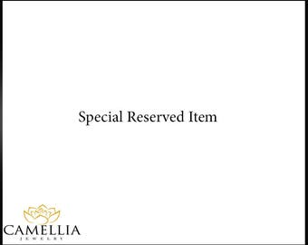 Special Reserved -Semi mount Branch Engagement Ring Set