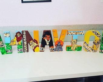 Lion King letters (Price PER letter)
