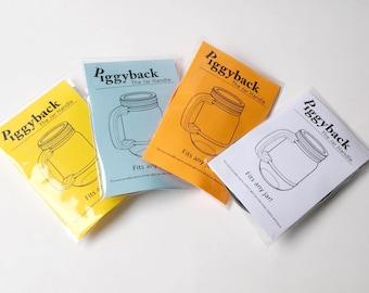 Universal Jar Handle - SET OF 4 - for Mason Jars or ANY Jar!