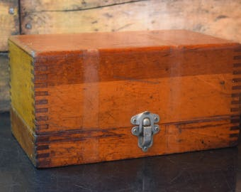 1940's Industrial Tool Box