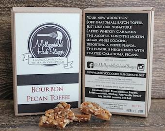 Bourbon Pecan Toffee - 6oz box