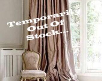 APPELGROEN SILK gordijn dupioni zijde window dressing