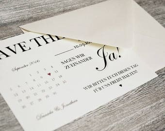 Save the date tickets-to the wedding