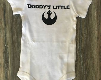 Mommy/Daddy's Little Rebel - StarWars Onesie