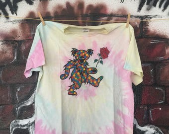 Grateful Dead Tie Dye Band Tshirt