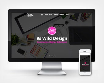Custom Premium Wordpress Website Design