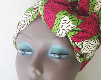 African print headwraps, ankara head tie ,Gift for Mom, African scarve, Gift idea ,African clothing headwrap christmax gift for her