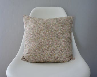 Cushion cover liberty katie and millie nude square 40