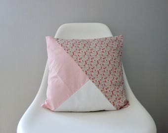 Pillow cover geometric liberty eloise pink