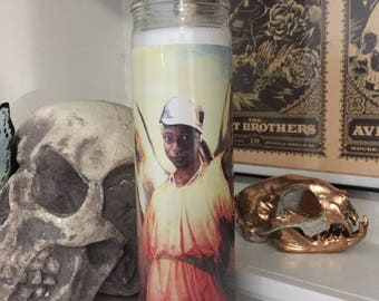 St Lafayette True Blood Prayer Candle