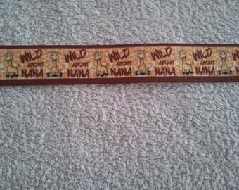Giraffe Ribbon (1 m) 22mm